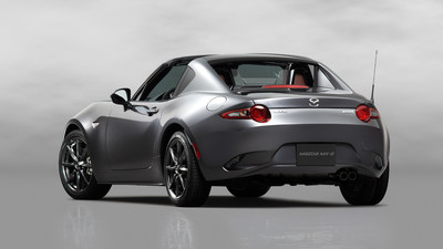 2017 Mazda MX-5 Miata RF Priced from an MSRP of $31,555