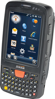 Janam XT Series rugged mobile computer with 3G/4G WWAN technology.  (PRNewsFoto/Janam Technologies LLC)