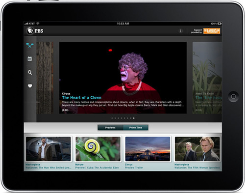 PBS Announces New PBS.org and Free Apps for iPad, iPhone, and iPod touch