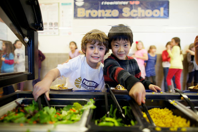 Salad Bars Increase Students' Access to Fresh Fruits and Vegetables