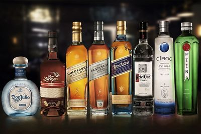 Diageo Reserve Collection - Group Product Shot. Photo credit - Ian Derry (PRNewsFoto/DIAGEO)
