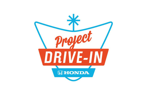 Honda Keeps the Movies Rolling with First Digital Projector Awarded to the Saco Drive-In.  (PRNewsFoto/American Honda Motor Co., Inc.)