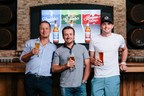 Professional golfers Freddie Jacobson, Graeme McDowell and Keegan Bradley introduce GolfBeer, a series of player-inspired easy-drinking craft beers. CREDIT: Indie Reps