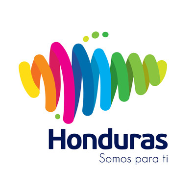 "Honduras official country brand logo. ""Honduras: Somos para ti"""