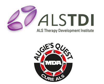 ALS TDI and Augie's Quest. (PRNewsFoto/ALS Therapy Development Foundation)