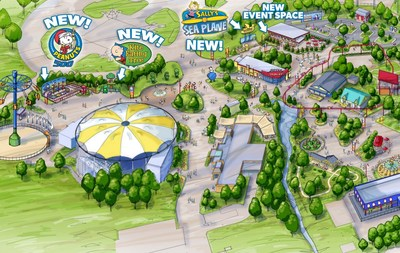 Three new family rides coming to Planet Snoopy in 2017!