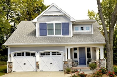 May's National Home Improvement Month is the ideal time to assess the home's exterior and add curb appeal with a new roof, windows, door or trim products. (PRNewsFoto/Ziprik Consulting)