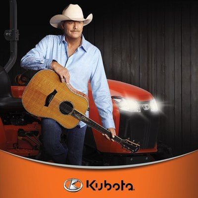 Kubota launches Keepin' It Country L-Series sweepstakes in conjunction with Alan Jackson's national tour by the same name.