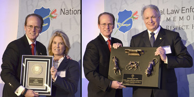 Memorial Fund Chairman and CEO Craig W. Floyd with Greta Van Susteren (left) and NHTSA Administrator Mark R. Rosekind.