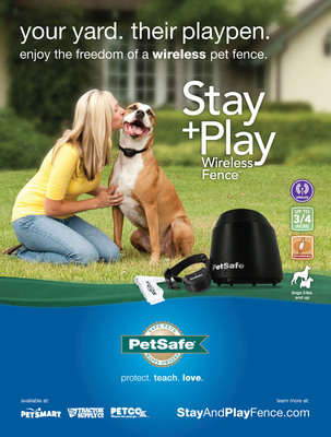 Introducing the PetSafe Stay + Play Wireless Fence