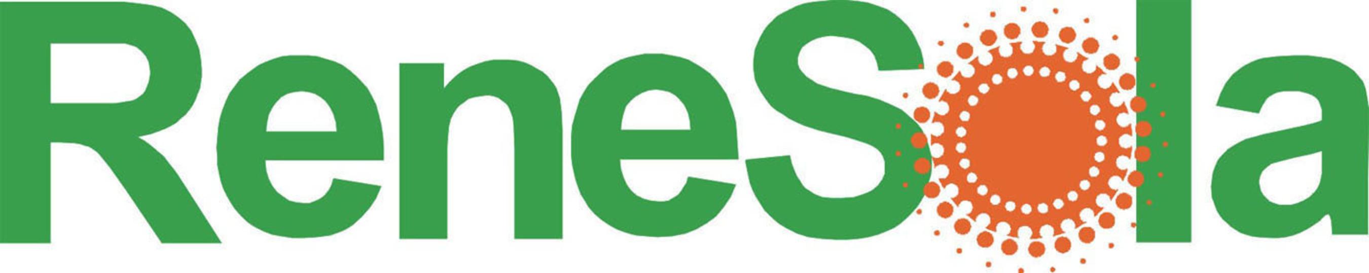 ReneSola Logo. (PRNewsFoto/ReneSola Ltd) (PRNewsFoto/)