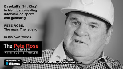 Pete Rose Interview Banner