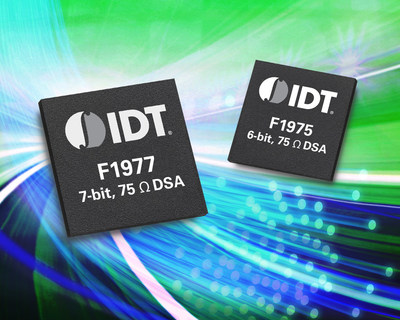 New IDT Family of RF Devices Targets Broadband and CATV Markets