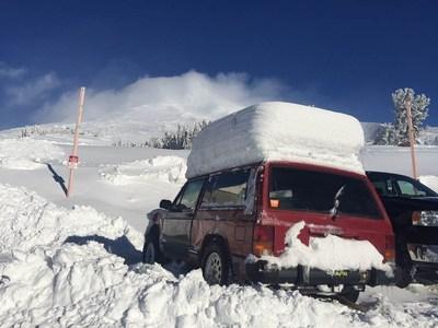 Oregon Mountain Snow. Credit: Timberline Lodge