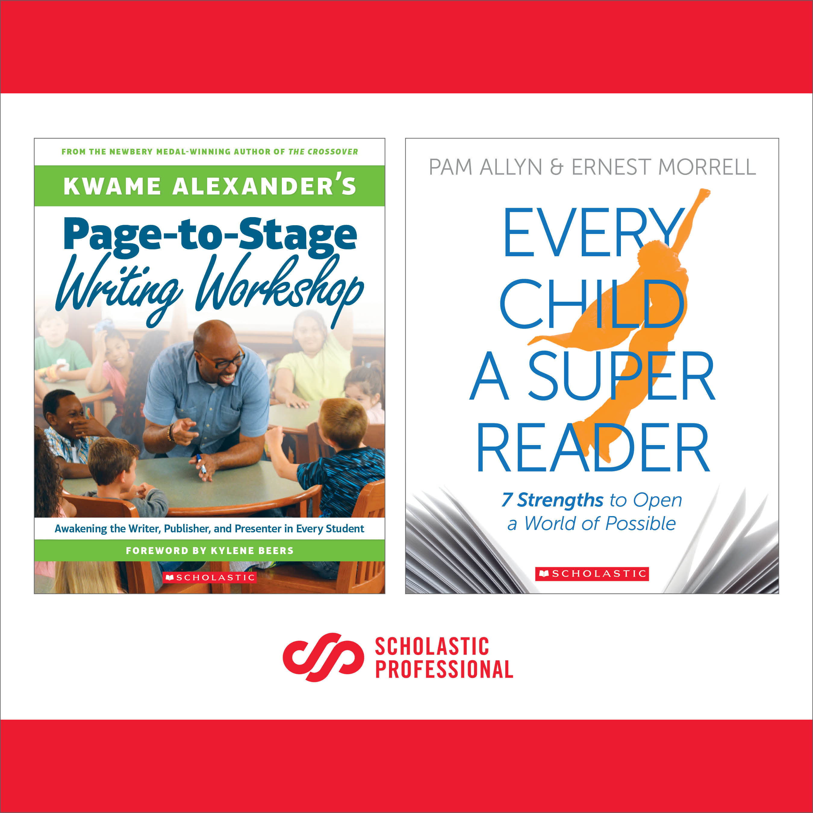 Scholastic Releases Two New Professional Books on K-12 Literacy Instruction