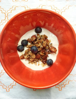 Almond Granola by Frances Largeman-Roth, RDN