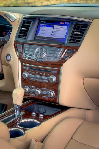 "All-New Nissan Pathfinder Named to ""Ward's 10 Best Interiors"" 2013 List.  (PRNewsFoto/Nissan North ..."