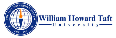 William Howard Taft University Logo. (PRNewsFoto/William Howard Taft University) (PRNewsFoto/WILLIAM HOWARD TAFT UNIVERSITY)