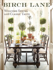 Birch Lane Spring Catalog Cover.  (PRNewsFoto/Wayfair)