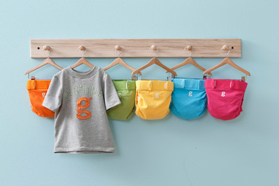 Here comes the sun. gDiapers introduces gPants for spring.  (PRNewsFoto/gDiapers)