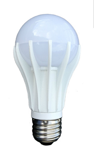 Evolucia introduces its new line of LED retrofit lamps at LIGHTFAIR International.  Pictured here is the ...