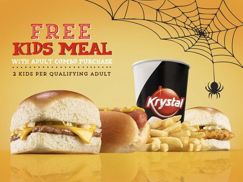 The Krystal Company® Celebrates Halloween With Families
