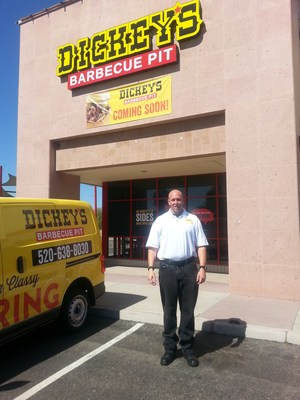 Dickey's Barbecue Pit opens in Marana Thursday with barbecue specials and giveaways taking place over the three-day grand opening celebration.
