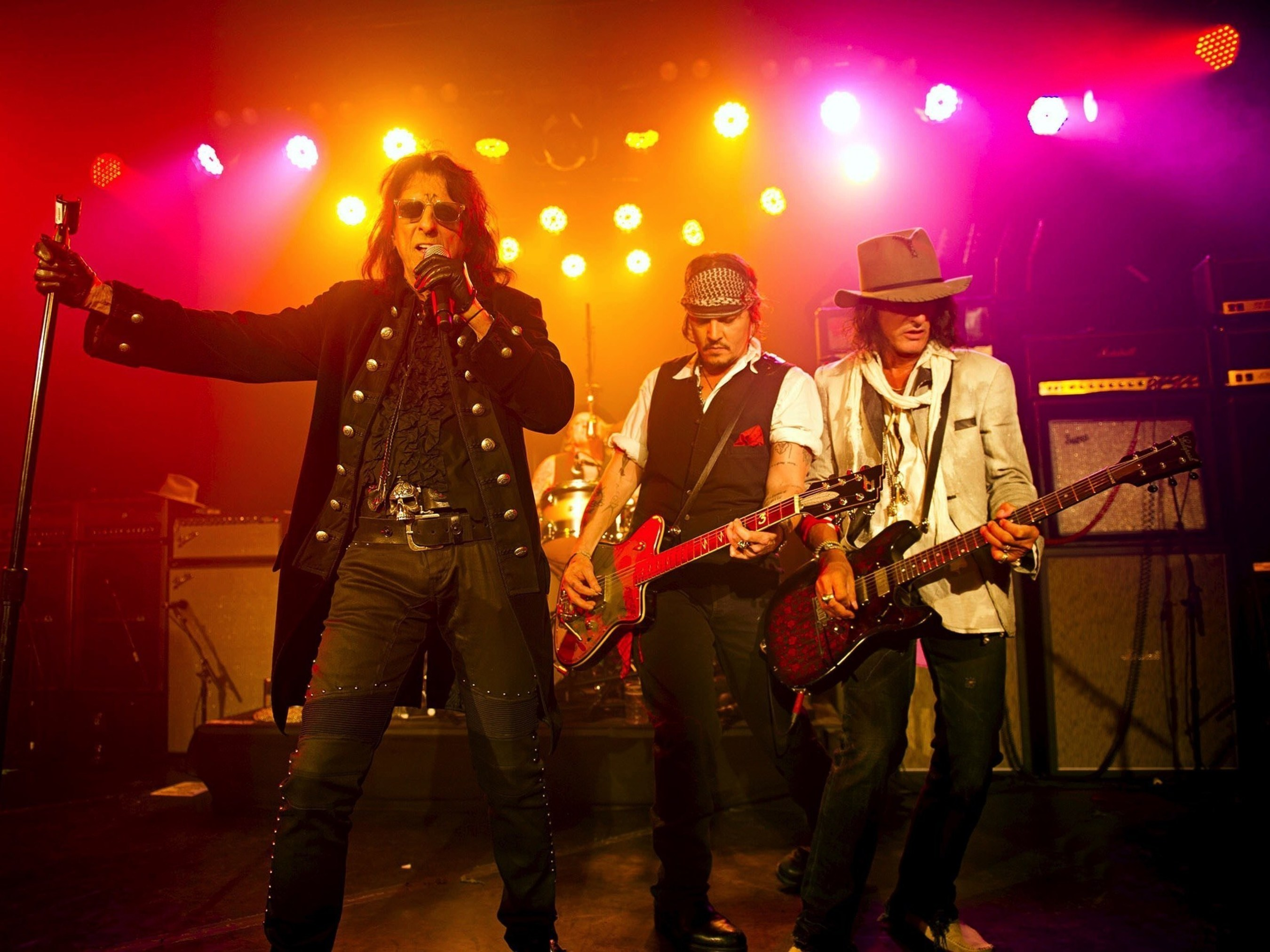 New Album featuring Johnny Depp, Alice Cooper and Joe Perry Revives Hollywood Vampires
