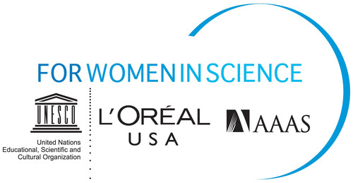 L'Oreal USA For Women in Science logo. (PRNewsFoto/L'Oreal USA)