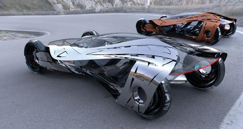 Automotive Design Studios Envision the 1,000 lb. Car