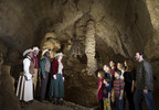 Natural Bridge Caverns in New Braunfels, Texas, hosts Caroling in the Caverns with the entire park illuminated by thousands of twinkling lights and two new, underground Christmas shows, along with several other unique holiday attractions. Christmas at the Caverns is open Friday, Saturday and Sunday nights at 5:30 p.m. with special, Christmas week shows Monday, December 22 and Tuesday, December 23.