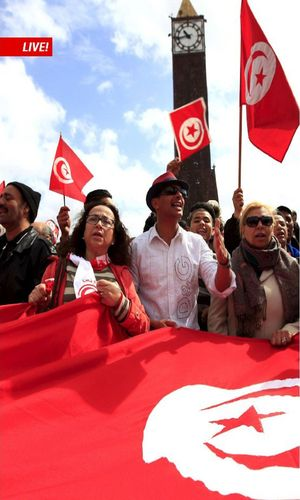 The 2015 Global Forum on Modern Direct Democracy is taking place May 14-17 in Tunis. (PRNewsFoto/SWI swissinfo.ch)