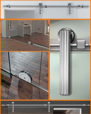 Amba Products Stainless Exposed Steel Sliding Door Systems (PRNewsFoto/Amba Products)