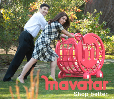 Mavatar Founders: Setting off to disrupt the online shopping space with Mavatar's smart, personal cart! Brom Mahbod, Mavatar, CEO, Ph.D in Computer science & Former VP of e Business Platform, Oracle Susan Akbarpour, Mavatar, President, MS in Management from Stanford & Serial entrepreneur.  (PRNewsFoto/Mavatar Technologies, Inc.)