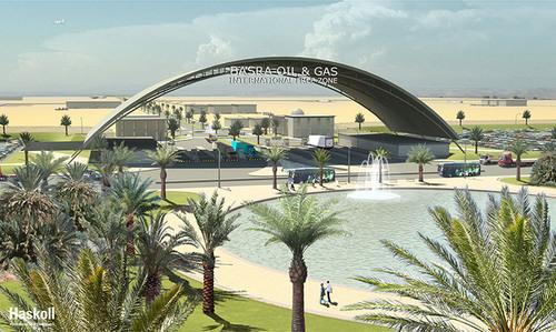 The Basra Oil and Gas International Free Zone.  (PRNewsFoto/BIOGH)