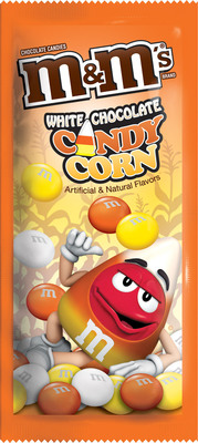 Mars Chocolate North America introduces new frightfully fun Halloween treats, including M&M'S(R) Brand Candy Corn White Chocolate Candies. These orange, yellow and white candies were so popular in large bags last year that now they are also available in a convenient single serving size.  Other SPOOK-tacular treats include SNICKERS(R) Brand Peanut Butter Pumpkin Shaped Singles, M&M'S(R) MINIS Tubes, M&M'S(R) Brand Candies in harvest colors, and boxes and variety bags of iconic favorites like M&M'S, SNICKERS(R), TWIX(R), MILKY WAY(R) and 3 MUSKETEERS(R) Brands.  (PRNewsFoto/Mars Chocolate North America)