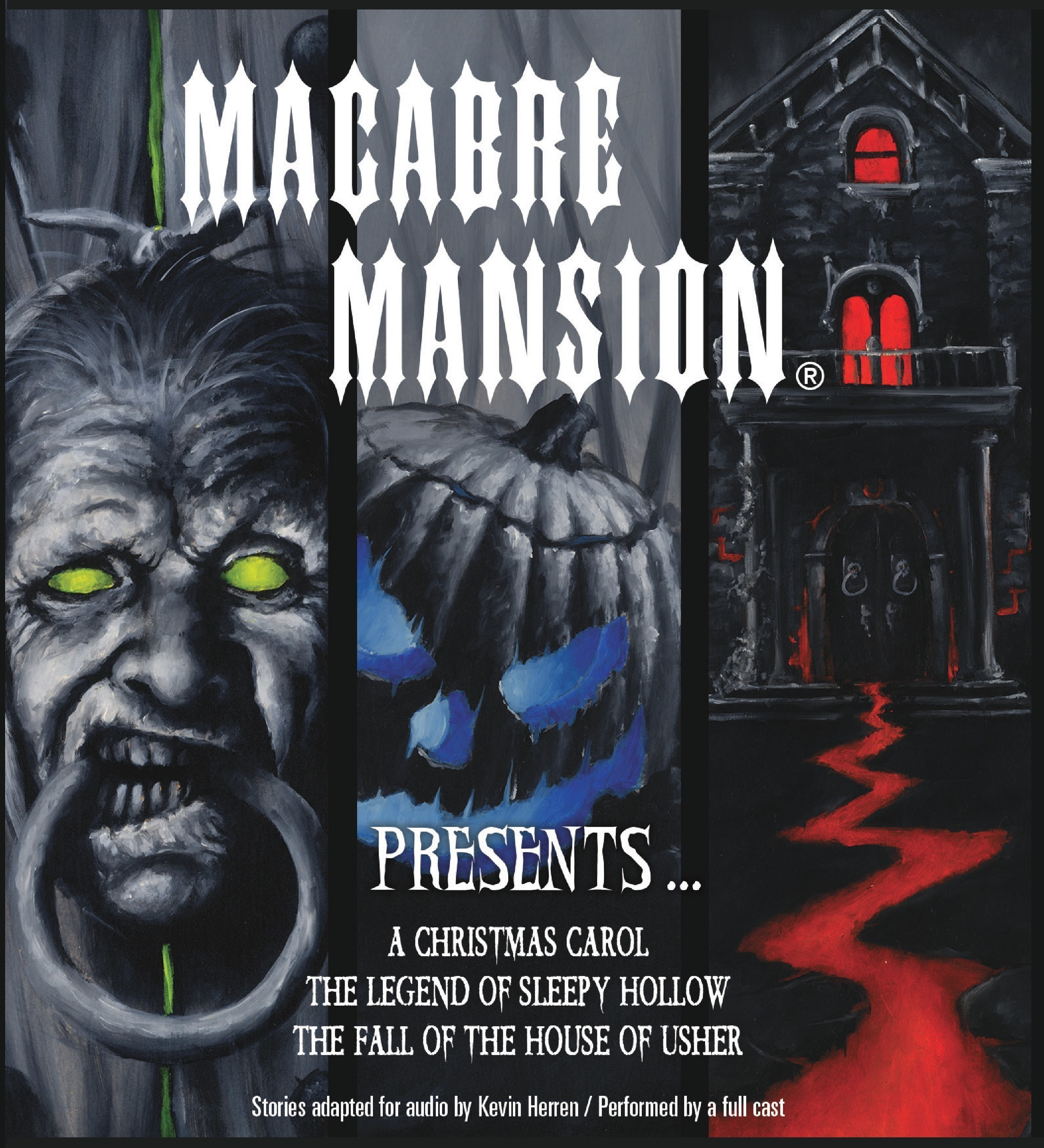 Macabre Mansion Releases Collection of Three Classic Audio Dramas Voiced by Well-known Hollywood Actors