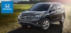 The 2014 Honda CR-V is capable of achieving a class-leading highway fuel economy rating of 31 mpg.  (PRNewsFoto/Metro Honda)