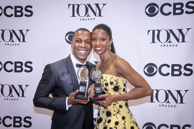 "Carnegie Mellon University alumni Leslie Odom, Jr. and Renee Elise Goldsberry received two of the 11 Tony Awards bestowed on the musical ""Hamilton."""