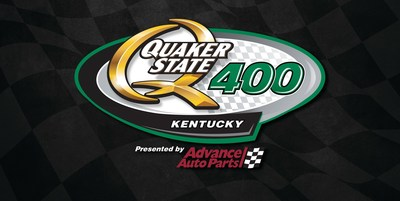 The Quaker State 400 Presented by Advance Auto Parts Returns To Kentucky Speedway For 6th Annual Sprint Cup Series Race