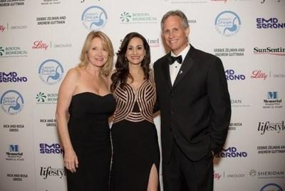 Shelley Goldstein (Gala Co-Chair), Debbie Zelman (DDF President and Founder) and David Kubiliun (Gala Co-Chair)