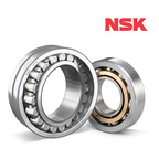 NSKHPS Spherical Roller Bearing and NSKHPS Angular Contact Ball Bearing.  (PRNewsFoto/NSK Corporation)