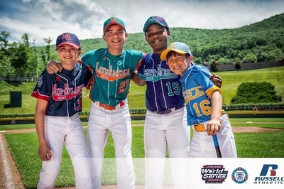 Russell Athletic 2016 Little League World Series Uniforms
