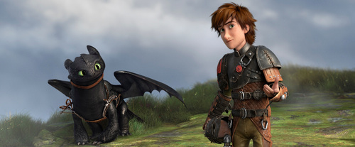 Hiccup and Toothless fly onto Netflix in 2015 with new seasons of DreamWorks Dragons (PRNewsFoto/Netflix, Inc.)