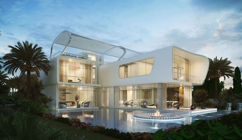Ettore 971 Bugatti Styled Villas at AKOYA Oxygen will be on show during the events (PRNewsFoto/DAMAC Properties) (PRNewsFoto/DAMAC Properties)