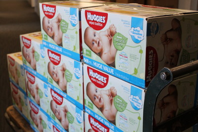 As the founding sponsor of the NDBN, Huggies has donated a combination of more than 200 million diapers and wipes in the past six years.
