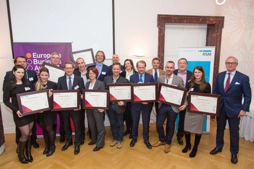 Austrian National Champions in the European Business Awards (PRNewsFoto/European Business Awards)