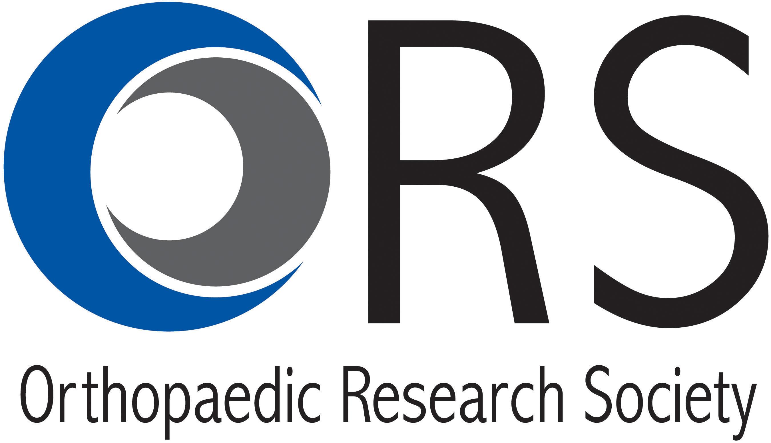 Orthopaedic Research Society logo. (PRNewsFoto/Orthopaedic Research Society) (PRNewsFoto/Orthopaedic Research Society)