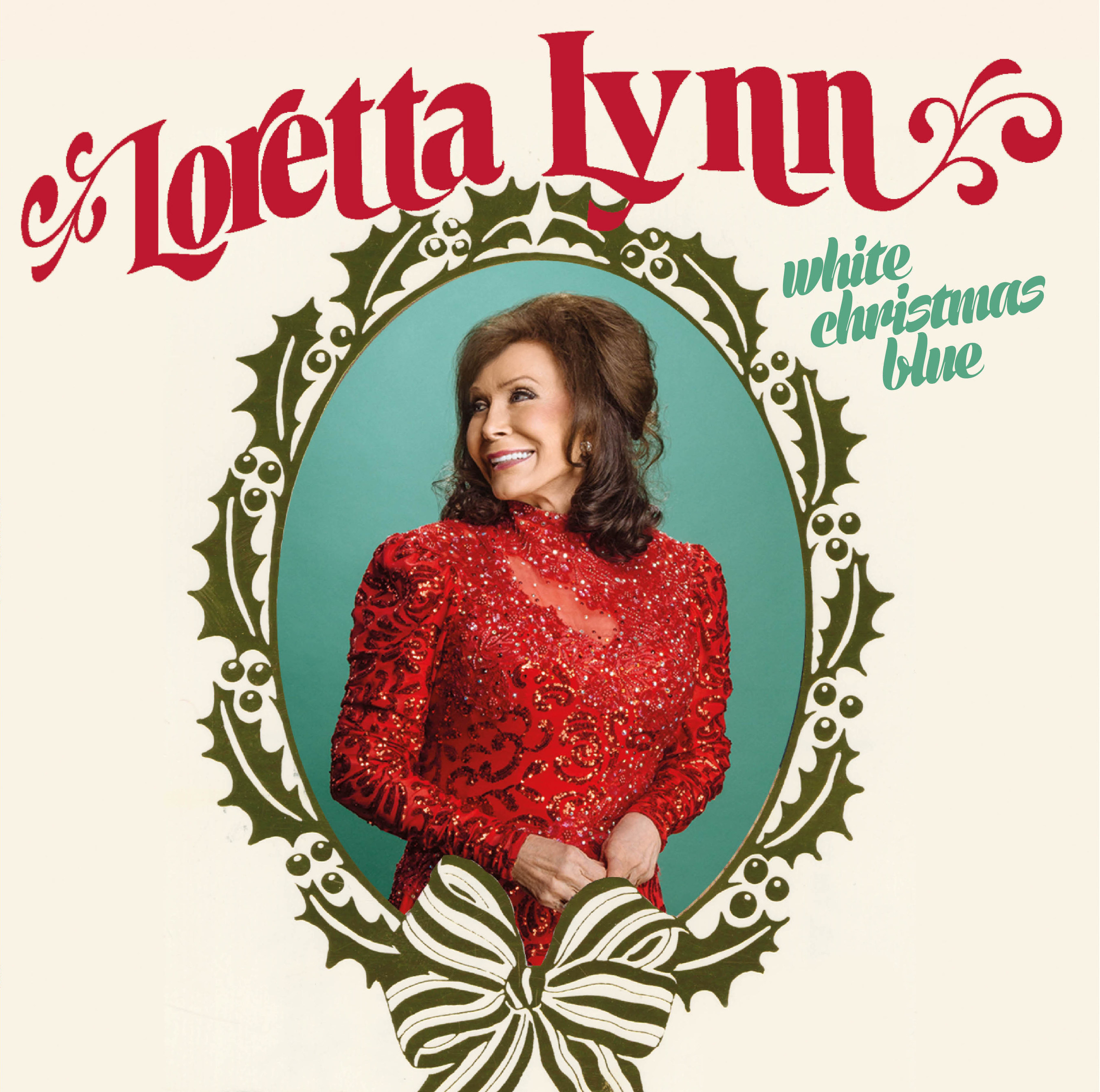 Loretta Lynn's New Holiday Album, White Christmas Blue, Coming Friday, October 7 on Legacy Recordings