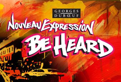 Nouveau Expression - Be Heard Art Contest